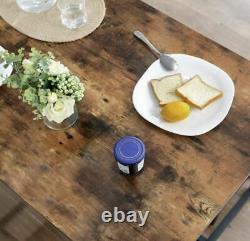 Table À Manger Industrielle Vintage Rétro Meubles Rustic Metal Kitchen Petit Déjeuner