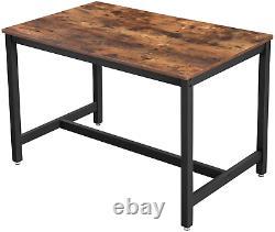 Table À Manger Industrielle Vintage Retro Rustic Kitchen Furniture Breakfast Dinner