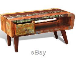 Table Basse Rétro Meubles De Style Industriel Chambre Vintage En Bois Massif Récupéré