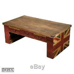 Table Basse Vintage En Union Union Boy Boys Retro Avec Trois Tiroirs