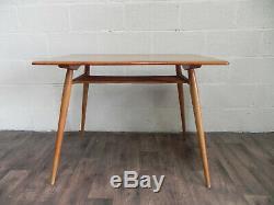Table De Petit Déjeuner Ercol Vintage Orme C. 1960