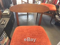 Table De Salle À Manger Et 4 Chaises MID Century Pliage Jentique 1960 S Vintage
