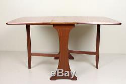 Table De Salle À Manger Et Chaises En Teck 4 Rétro Vintage, Années 1970, Nathan