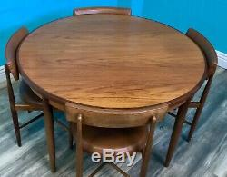 Table De Salle À Manger Et Chaises Vintage Mid-century Vintage G Plan Kofod