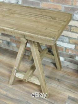 Table En Bois Rustique Industriel Meubles De Salle Rectangle Cuisine Ferme Nouvelle