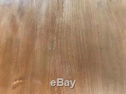 Table Ercol Drop Leaf Vintage Et 4 Chaises Hoop Windsor Avec Coussins