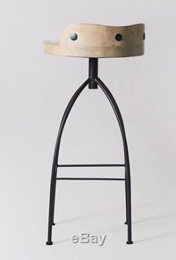 Tabouret De Cuisine Vintage Industriel Retro Diner X 2 Swoon Mason Rrp £ 179