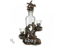 Tentacle Temptation Octopus Squid Decanter & Glasses Nemesis Now Cthulhu Gift