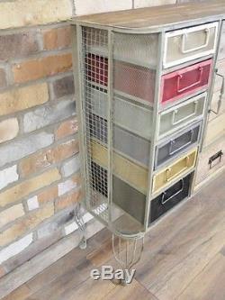 Tiroirs Industriels De Grille Du Cabinet 13 En Métal Coloré 1 Compartiment De Stockage De Porte