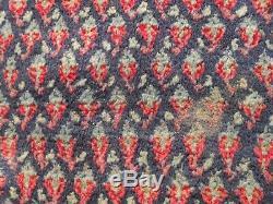 Très Grand Laine Tapis De Tapis Antique Vintage 330x230cm Royal Mir Sa-roug