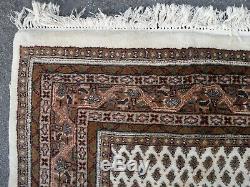 Très Grand Tapis Vintage Antique Laine De Tapis 170 X 225 CM Pers Ian