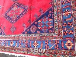 Très Grand Tapis Vintage Antique Laine De Tapis 364 X 270cm CM Pers Ian Viss