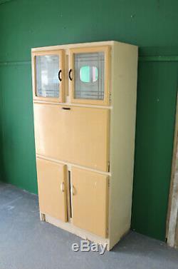 Unité De Cuisine Vintage Grand, Cabinet, Meuble De Rangement, Plan De Travail, Rétro, Refurb