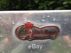 Unité De Cuisine Vintage Rétro Anglaise Rose Restaurée Et En Très Bon État