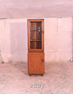 Unité Ercol Haute, Glacé, Modulaire, Cabinet Windsor, Armoire, Vintage, Lounge