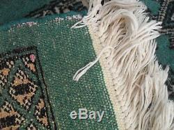 Vert Très Grand Tapis Vintage Antique Laine De Tapis 325 CM X 260 Pers Ian Bak Ora