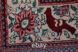 Vieille Collection Animale Picturale Agra Oriental Area Rug Laine Artisanale 4'x8