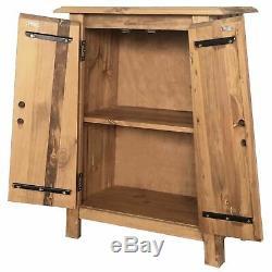 Vintage Cabinet De Côté Rustique Armoire De Rangement En Bois Massif Petit-déjeuner Buffet Meubles