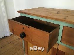 Vintage Country Kitchen Pin Unité De Stockage Armoire Disposé Livraison
