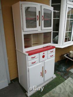 Vintage Cuisine Larder Cabinet Armoire Unité Retro 1950 1960 Coin Cuisine