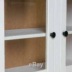 Vintage Cuisine Larder Cabinet Blanc Grand Pin Meuble De Rangement Garde-manger Rustique
