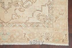 Vintage Géométrique Muted Distressed Tapis Délavé 6'x9 Oriental Main Noué