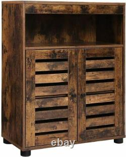 Vintage Industriel Armoire Armoire Hall Slim Buffet De Rangement De L'unité De Rangement Table Latérale