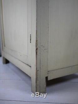 Vintage Old School Armoires De Cuisine Larder Linge De Presse Gouvernants Armoire