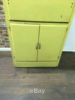 Vintage Retro 1950 De L'armoire Serveur Cuillères De Cuisine Haut Solide Design 7395