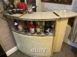 Vintage Retro 60s 70s Home Cocktail Drinks Bar Armoire