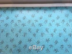 Vintage / Rétro Cuisine Garde-manger / Placard Des Années 1950 Des Années 1960 Stockage Bleu Et Blanc