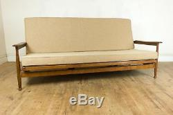 Vintage Retro Guy Rogers Manhattan Teck MID Century Canapé Lit
