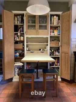 Vintage Retro Kitchen Cabinet Cupboard, Kitchenette Larder Anglais Des Années 1930