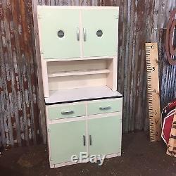 Vintage Retro Kitchen Dresser Larder Pantry 1950 Rockabilly Kitchenette Dressing