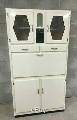 Vintage Retro Kitchenette Cuisine Larder Armoire De Stockage Cabinet 1950 1960