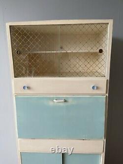 Vintage Retro MID Century Kitchen Cabinet Armoire Larder Uk Livraison Disponible