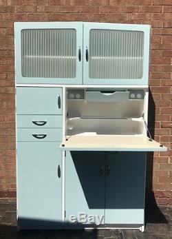 Vintage Retro Totalement Restauré Hygena 1950's Kitchen Larder Cabinet Cupboard