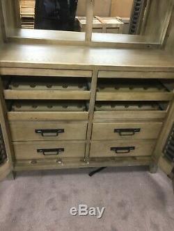 Vintage Wine Locker Boissons Cabinet Rrp £ 2995