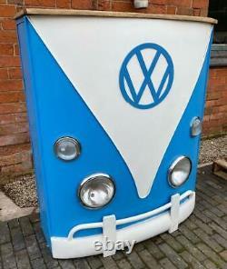 Vw Camper Van Home Bar / Compteur / Sideboard Retro Vintage Années 1960 Inspiré