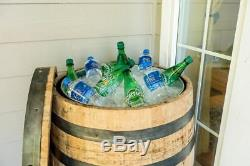 Whisky Bois De Chêne Barrel Entier 59 Gal Utility Bbq Stand Bistro Table Vintage